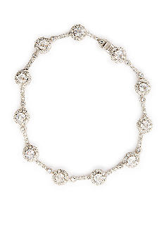 Nadri Cubic Zirconia and Crystal Framed Bracelet