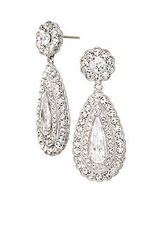 Nadri Tear Drop Earrings