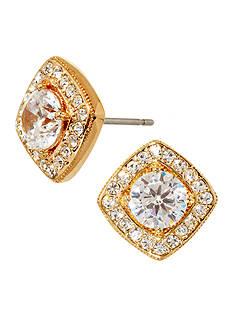 Nadri Gold Stud Earrings