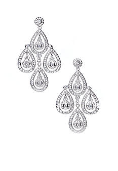 Nadri Raindrop Chandelier Earring