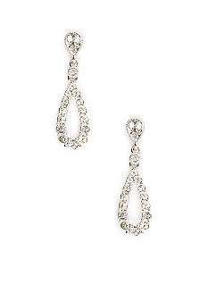 Nadri Open Rain Drop Earring