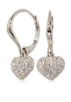 Nadri Lever Back Drop Earrings