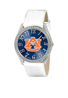 Game Time® Auburn White Glitz Style Watch