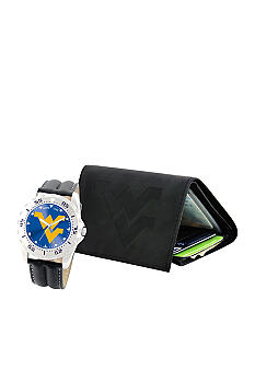 Game Time WVU Watch and Wallet Set