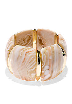 New Directions Natural Wide Stretch Bracelet