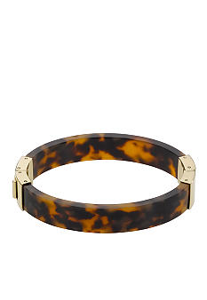 Michael Kors Jewelry Tortoise Acetate Hinge Bangle