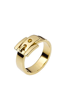 Michael Kors Jewelry Golden Buckle Ring Size 6