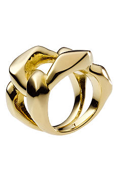 Michael Kors Jewelry Golden Chain Ring