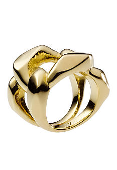 Michael Kors Jewelry Gold Chain Ring