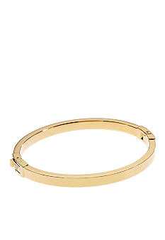 Michael Kors Jewelry Gold Color Skinny Hinge Bangle