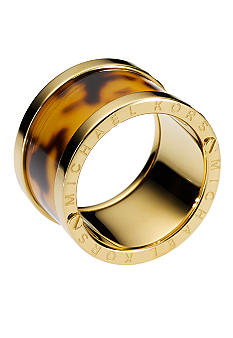 Michael Kors Jewelry Tortoise Acetate Barrel Ring