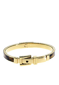 Michael Kors Jewelry Tortoise Buckle Bangle