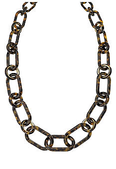 Michael Kors Jewelry Tortoise Link Necklace