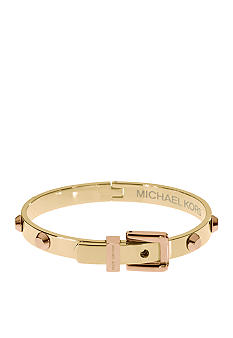 Michael Kors Jewelry Astor Hinge Buckle Bangle<br>
