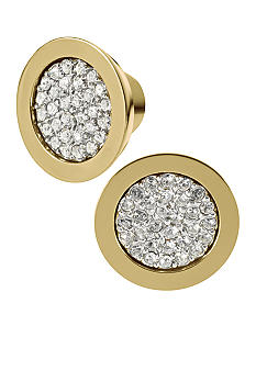 Michael Kors Jewelry Pave Slice Stud Earrings