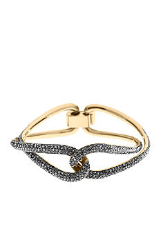 Michael Kors Jewelry Gold Twist Bangle