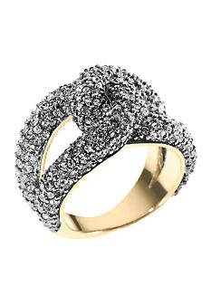 Michael Kors Jewelry Gold Tone Twist Ring