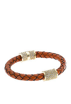 Michael Kors Jewelry Orange Braided Bracelet