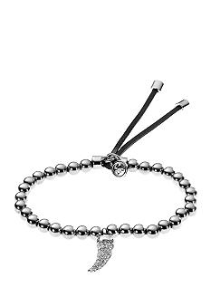 Michael Kors Jewelry Silver and Clear Tusk Bracelet