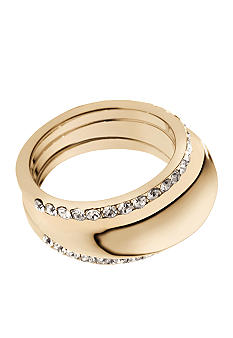 Michael Kors Jewelry Two Piece Gold Ring