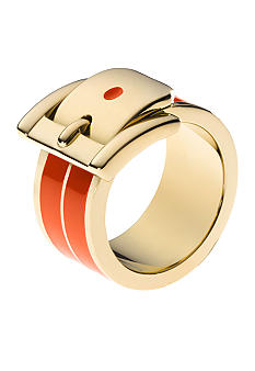 Michael Kors Jewelry Orange Barrel Ring