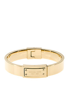 Michael Kors Jewelry Gold Plaque Bracelet