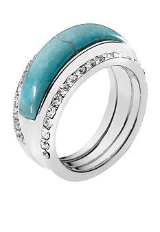 Michael Kors Jewelry Turquoise Slice Ring