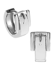 Michael Kors Jewelry Bedford Buckle Huggie Earring