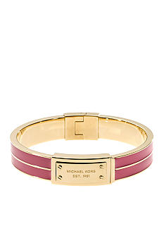 Michael Kors Jewelry Gold and Zinnea Hinge Bangle