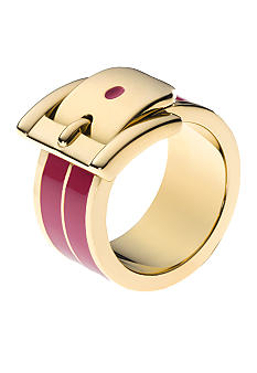 Michael Kors Jewelry Gold and Zinnea Buckle Ring