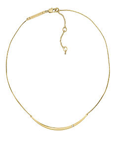 Michael Kors Jewelry Gold Bar Necklace