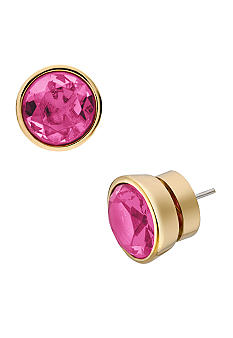 Michael Kors Jewelry Large Pink Stud Earrings