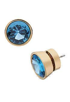Michael Kors Jewelry Large Indicolite Stud Earrings