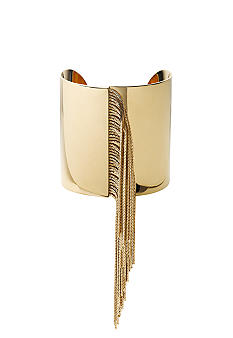 Michael Kors Jewelry Gold Fringe Cuff