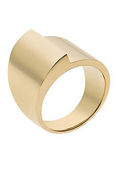 Michael Kors Jewelry Gold Fold Over Ring