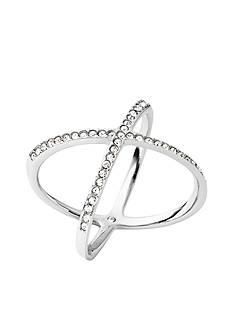 Michael Kors Silver-Tone X Ring