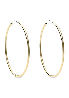 Michael Kors Gold-Tone Large Delicate Hoop Earring