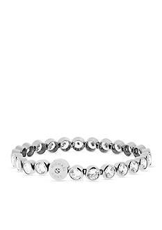 Michael Kors Silver-Tone Cubic Zirconia Bracelet