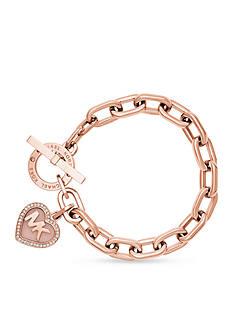 Michael Kors Rose Gold-Tone Bracelet
