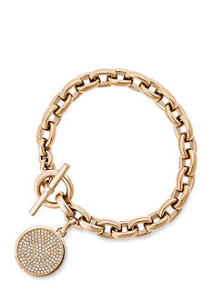 Michael Kors Gold-Tone Chain Toggle Bracelet