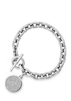 Michael Kors Silver-Tone Toggle Bracelet