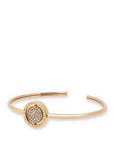 Michael Kors Gold-Tone Flip Glitz Cuff Bracelet