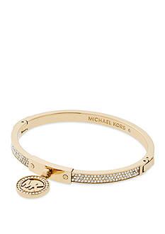 Michael Kors Gold-Tone Fulton Hinge Bracelet