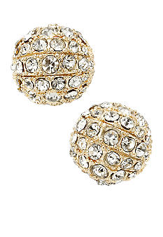 Fossil Glitz Fireball Stud Earrings
