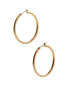 Kenneth Cole New York Goldtone Hoop Earrings