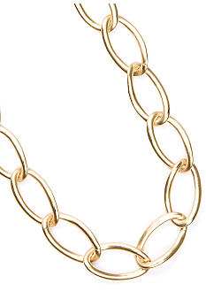 Kenneth Cole New York Gold-Tone Short Chain Link Necklace