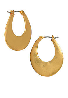 Kenneth Cole New York Small Oval Hoop Earrings