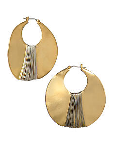 Kenneth Cole New York Wrapped Orbital Earrings