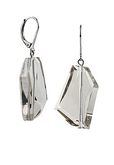 Kenneth Cole New York Faceted Bead Drop Earrings