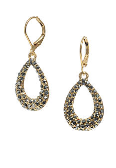 Kenneth Cole New York Oval Drop Earrings